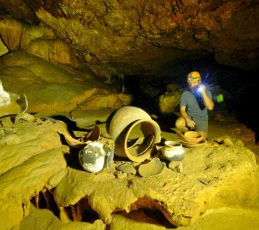 atm cave belize