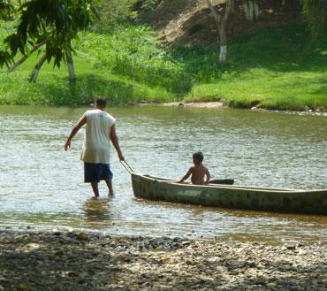 macal river sanignacio santa-elena