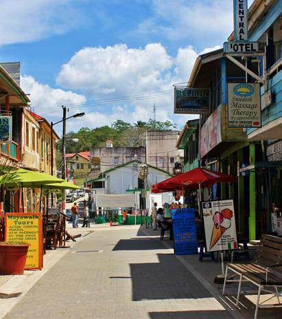 San Ignacio & Santa Elena Town